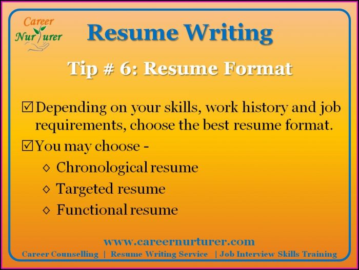 10 Effective Resume Writing Guidelines