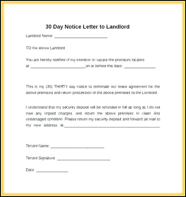 Sample Eviction Notice Form California