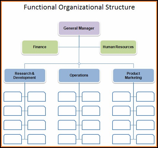 Sample Organizational Chart Template