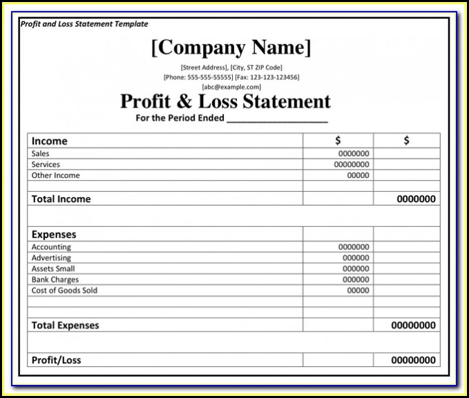 Simple Profit And Loss Formula