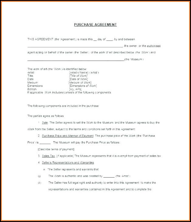 Simple Real Estate Buy Sell Agreement Template
