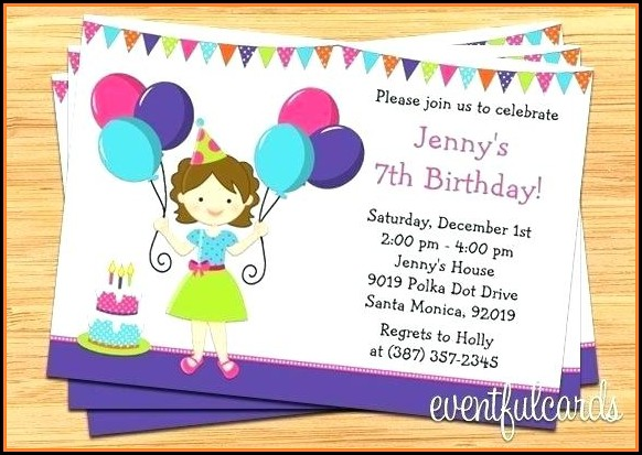 Winter Wonderland Birthday Invitation Template Free