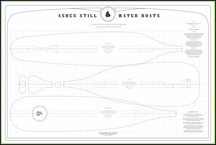 Cedar Strip Canoe Templates