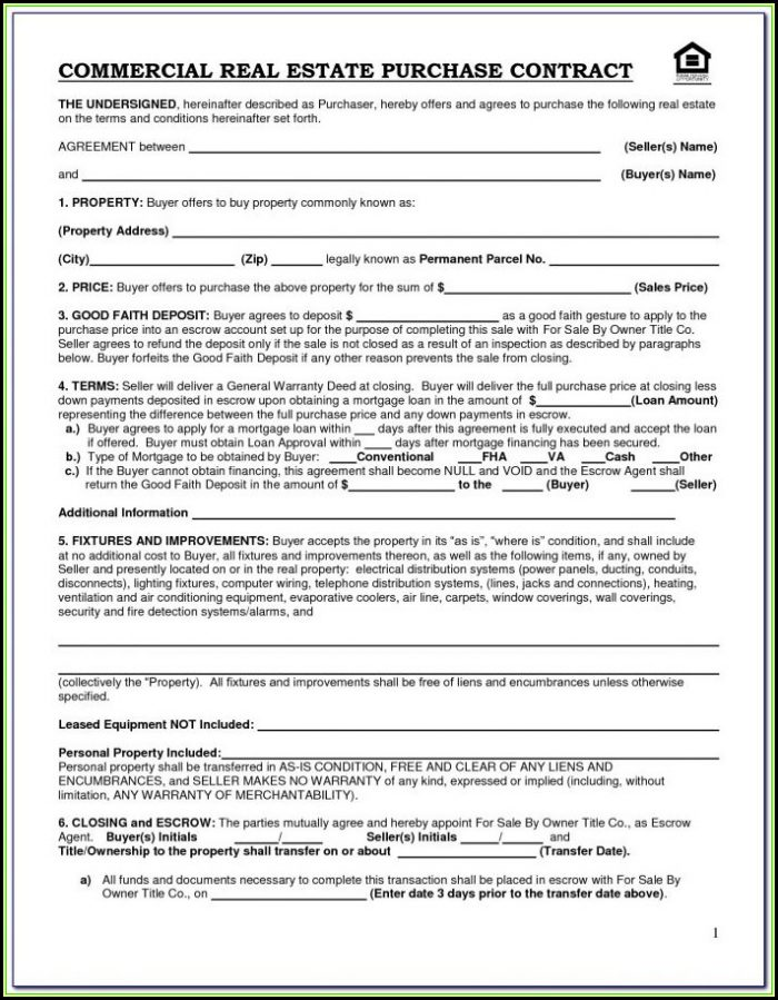 Commercial Lease Forms Ny