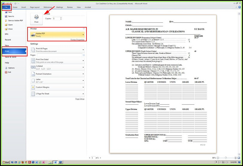 Create Fillable Pdf Form From Word