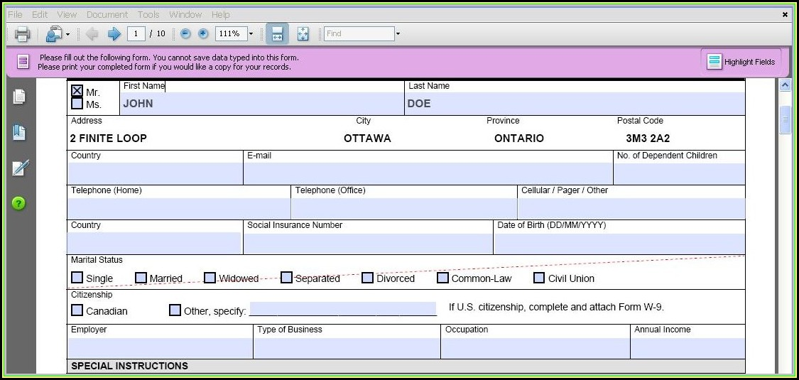 Create Pdf Fillable Form From Excel