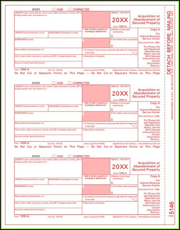 File A Tax Form 1099