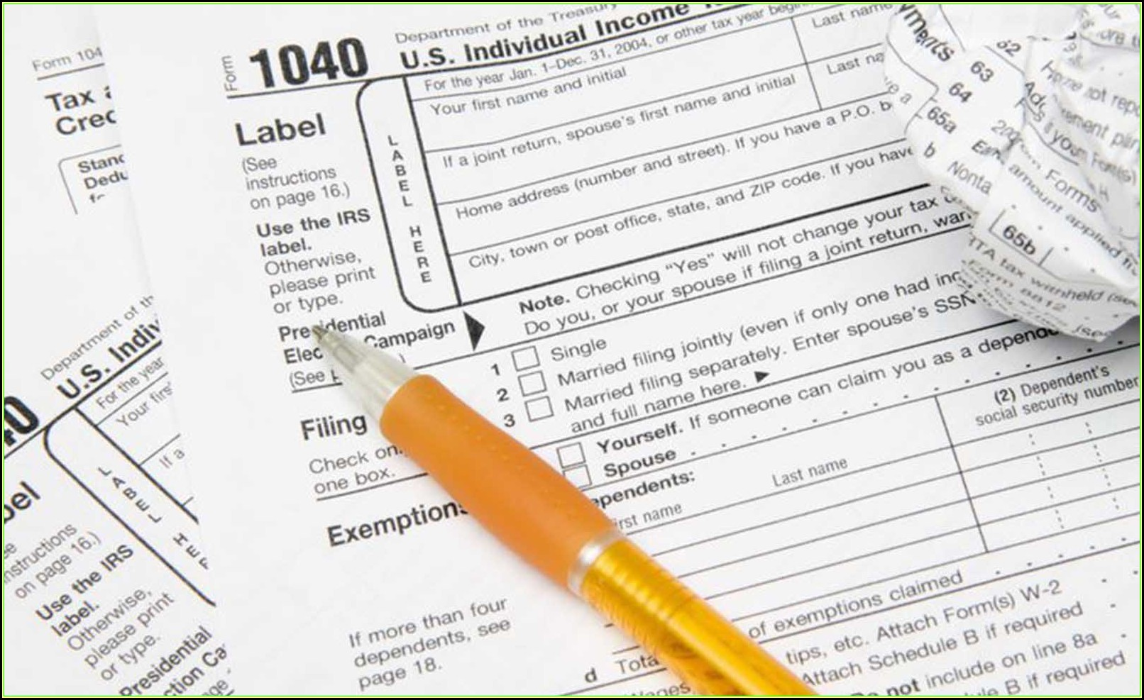 Filling Out A 1099 Form