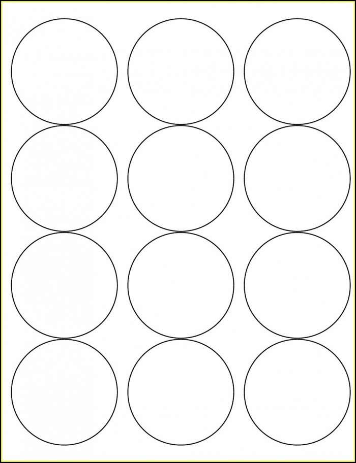 2.5 Inch Round Template