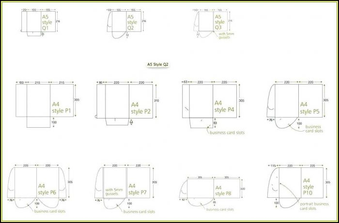 9x12 Folder Template Indesign