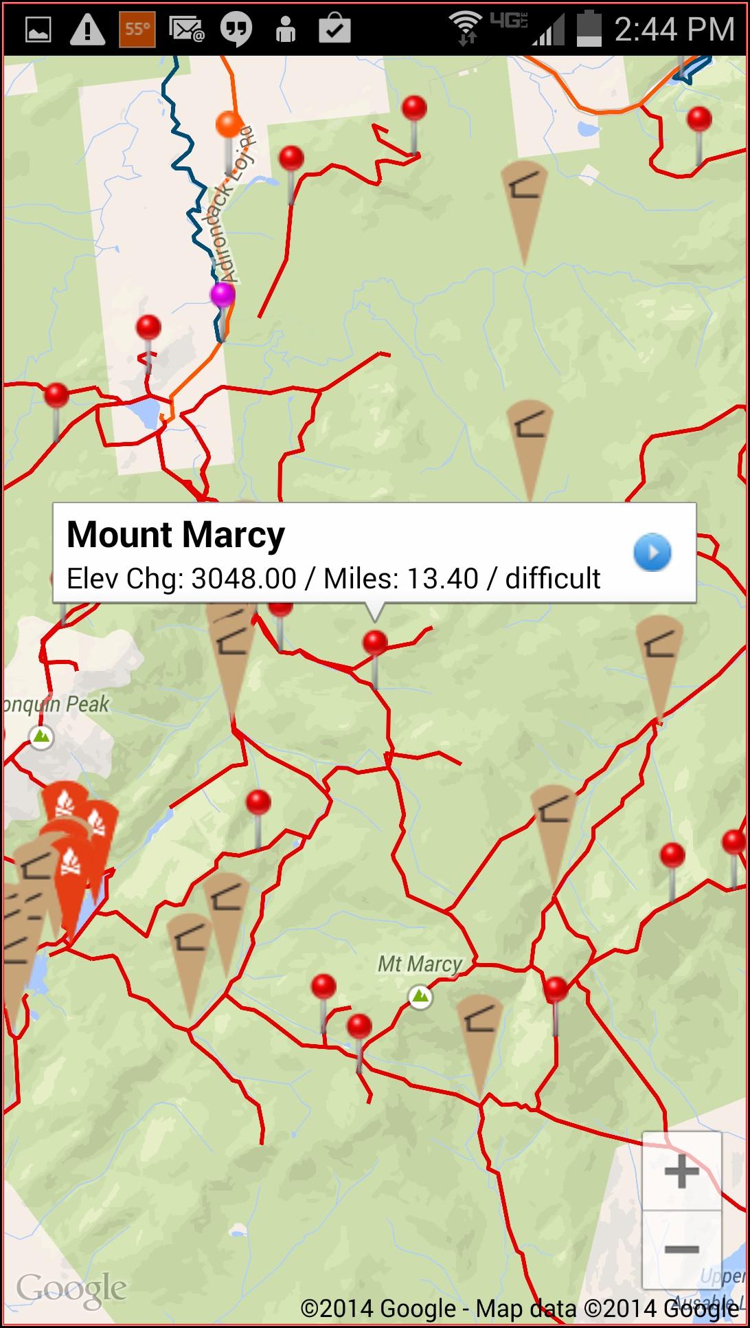 Adirondack Gps Trail Maps