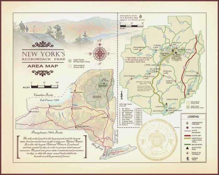 Adirondack Trail Maps