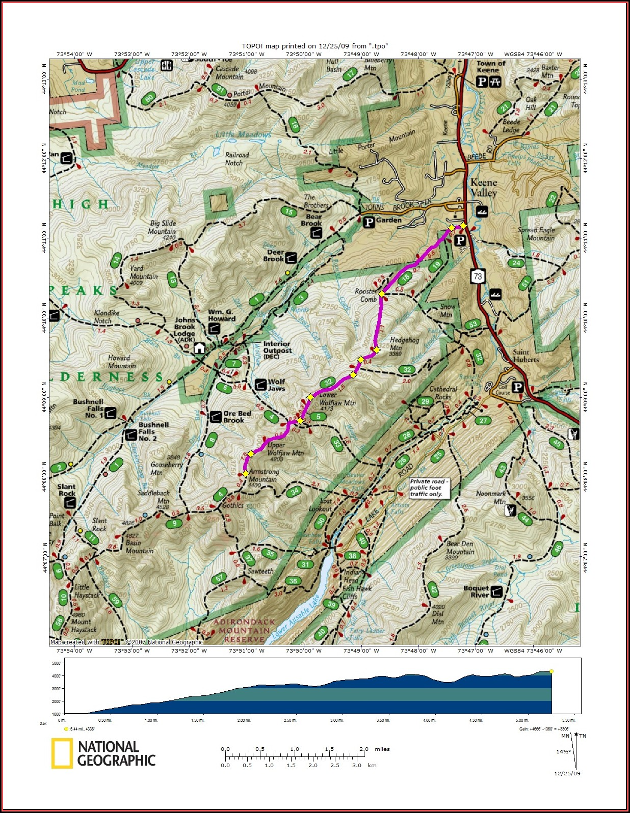 Adirondack Trail Maps Hikes