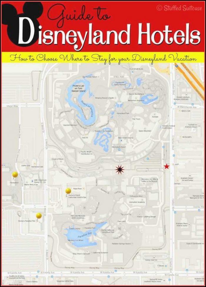 Anaheim Good Neighbor Hotels Map