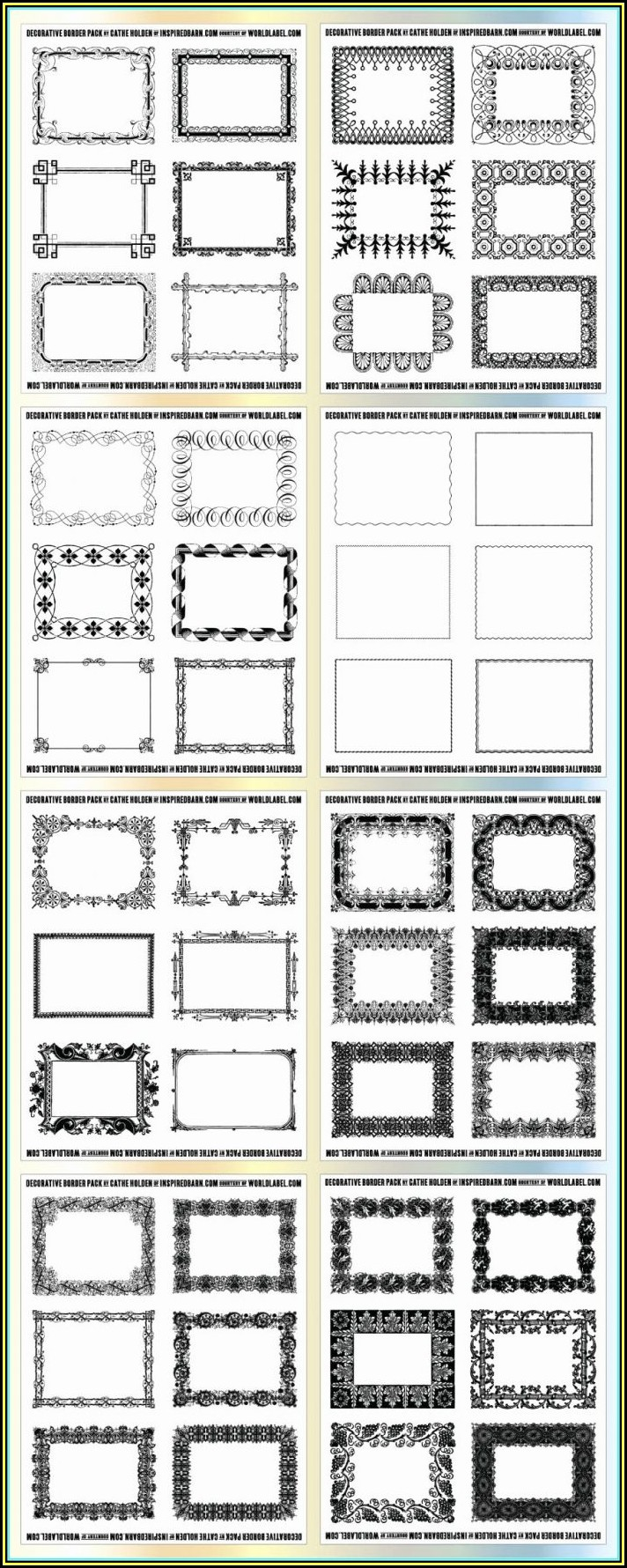Avery 8 Tab Label Template 11437