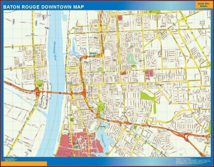 Baton Rouge Real Estate Map
