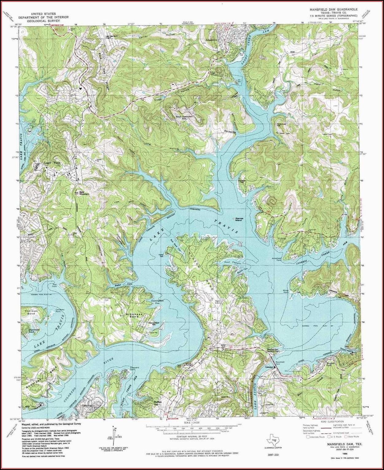 Bend Oregon Topo Map