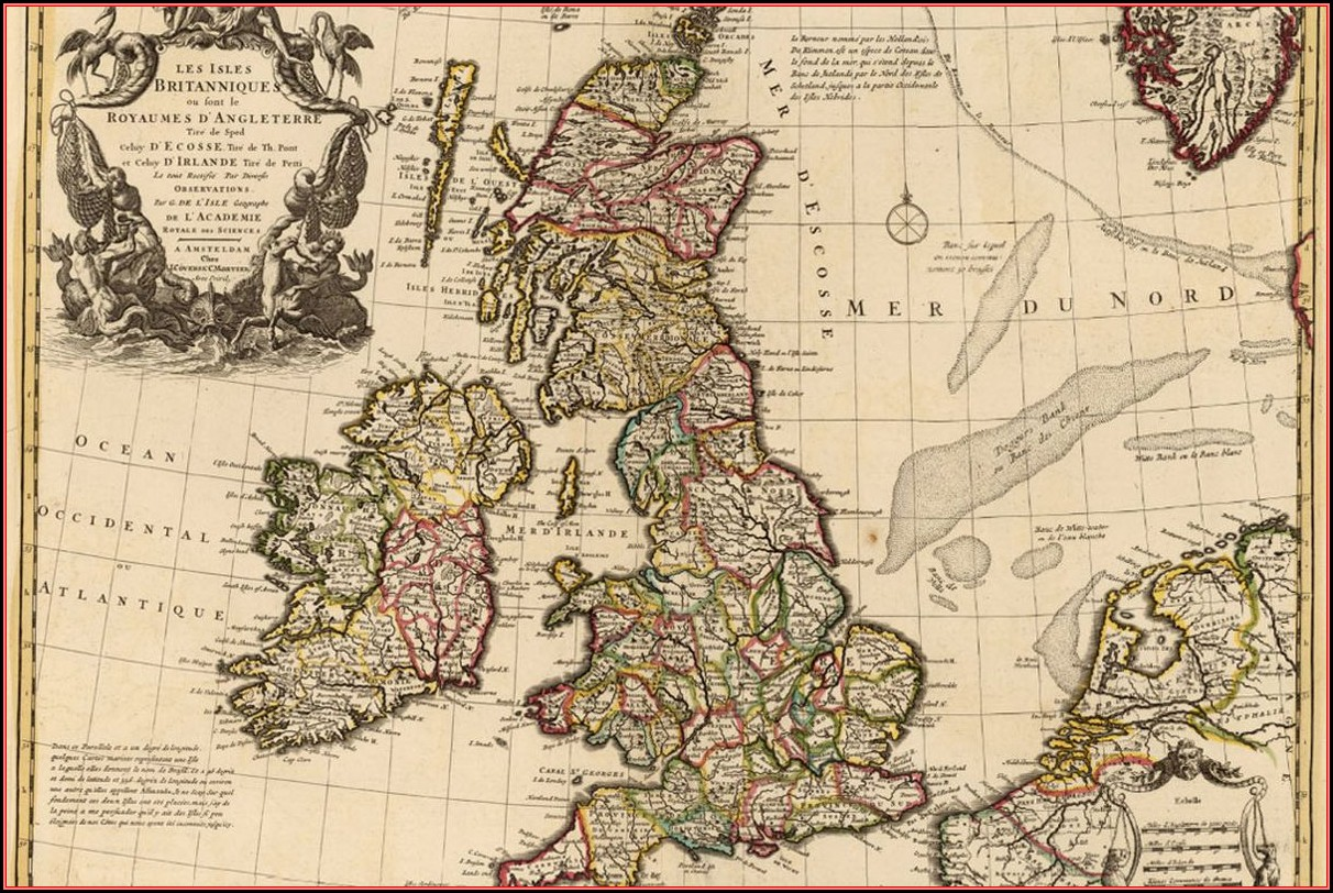 Buy Antique Maps Uk