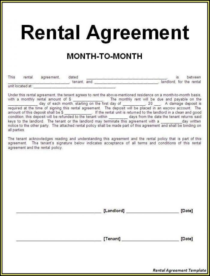 Car Rental Form Sample