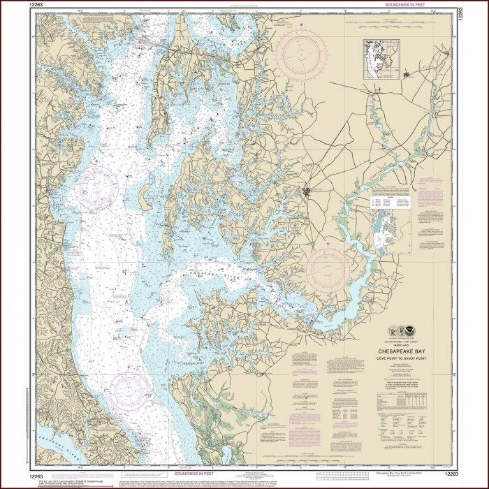 Chesapeake Bay Map
