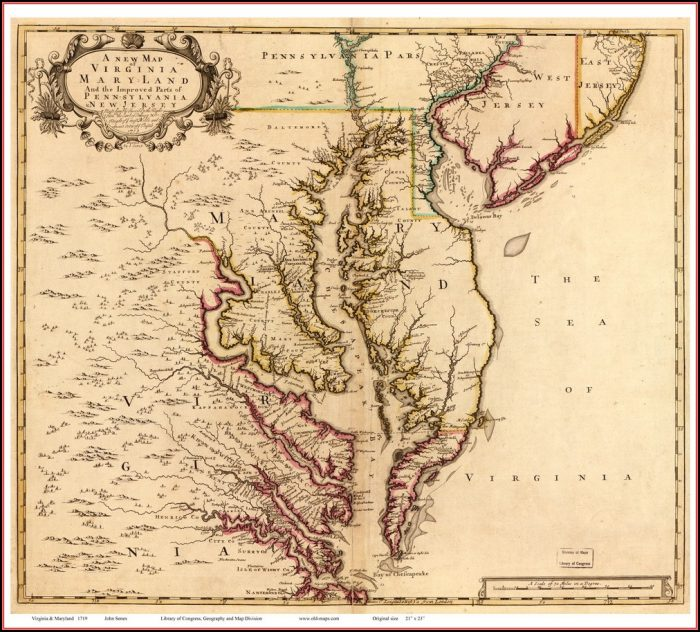 Chesapeake Bay Maps