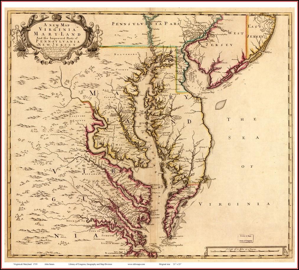 Chesapeake Bay Maps
