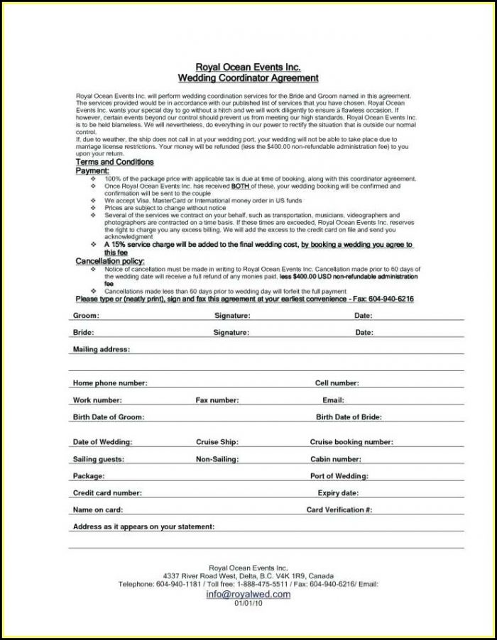 Cleaning Contracts Agreements