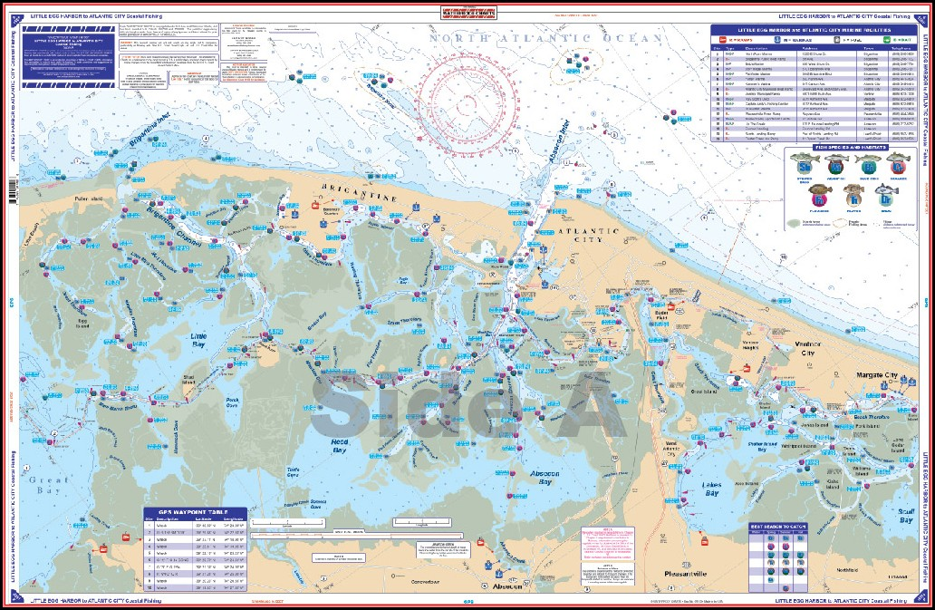 Coastal Charts And Maps