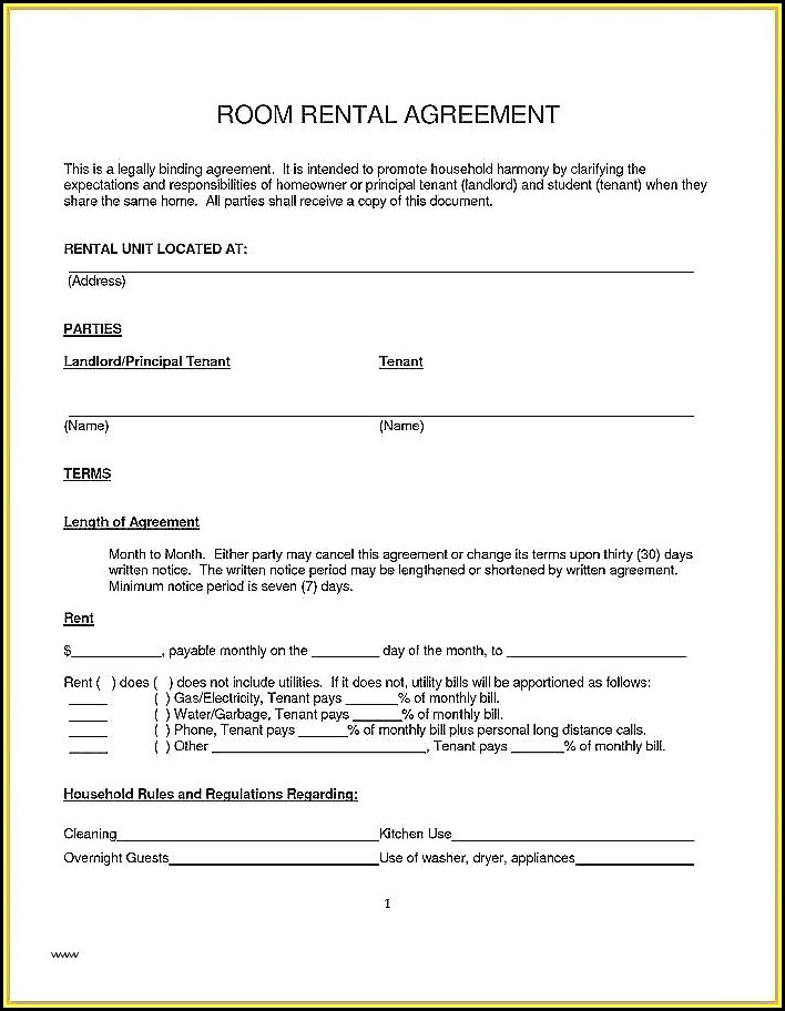 Commercial Sublet Lease Agreement Template Uk