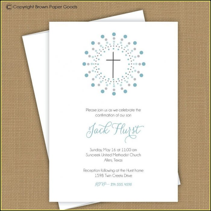 Confirmation Invites Templates