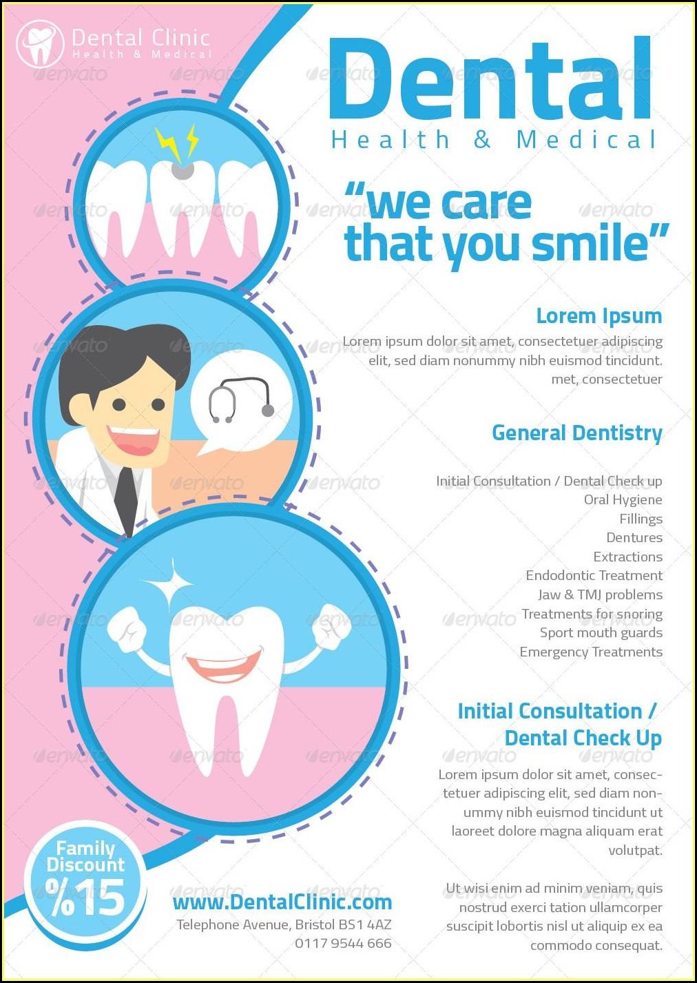 Dental Flyer Templates Free