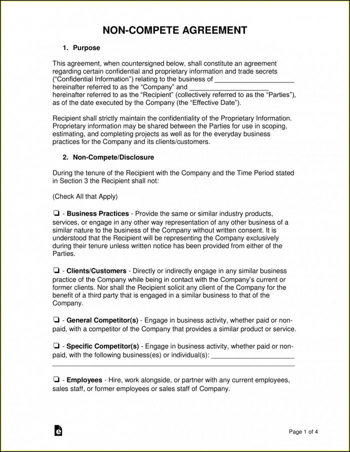 Employee Contracts Templates Free