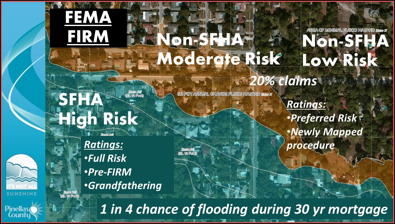 Flood Insurance Rate Map Pinellas County Florida