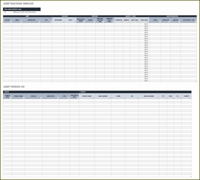 Food Inventory Excel Template Free