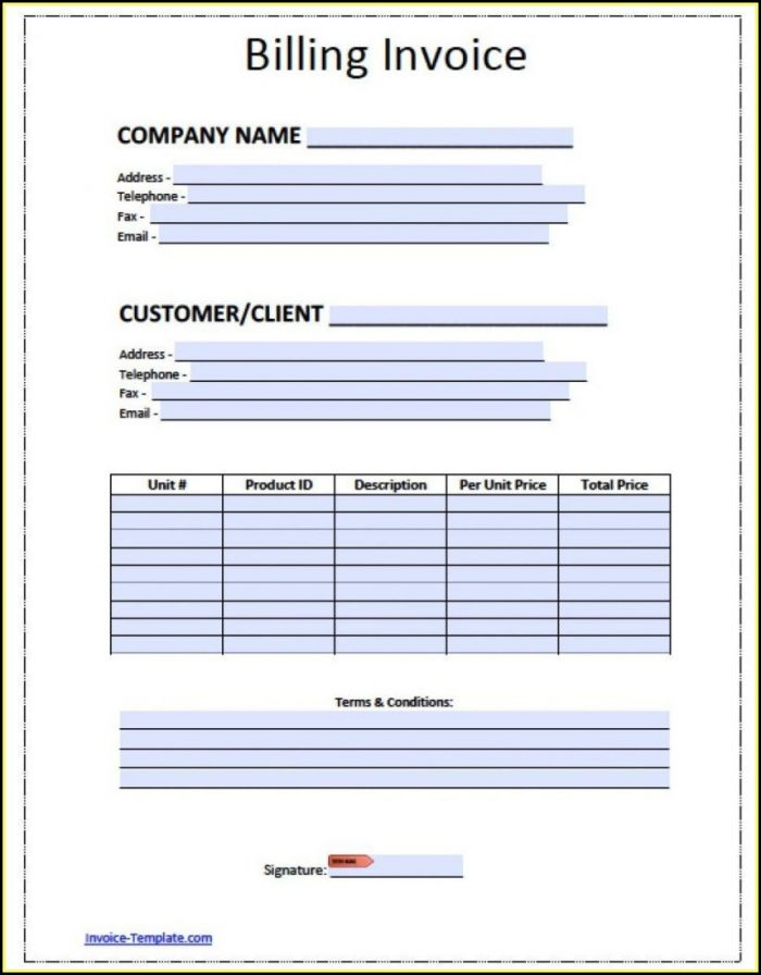 Free Aia Billing Template