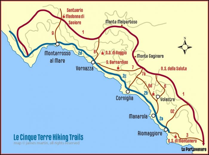 Free Hiking Maps Italy