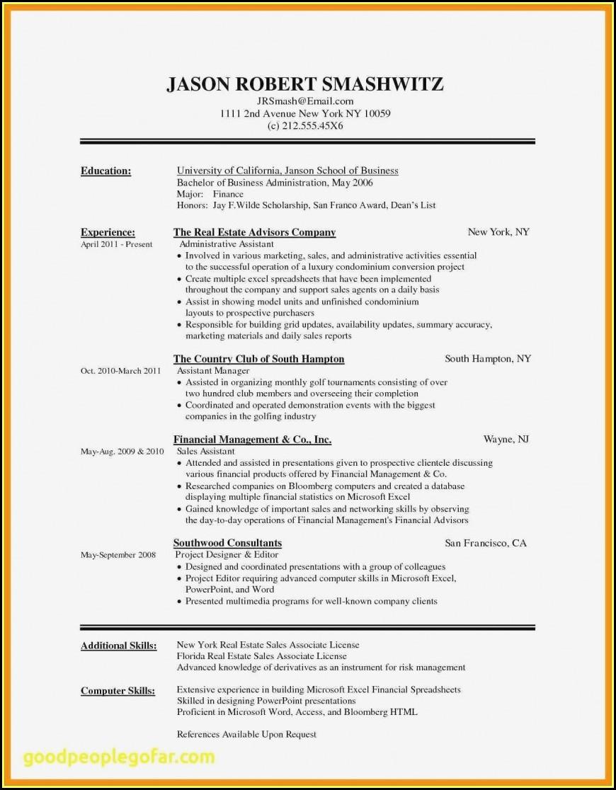 Free Microsoft Resume Templates 2017