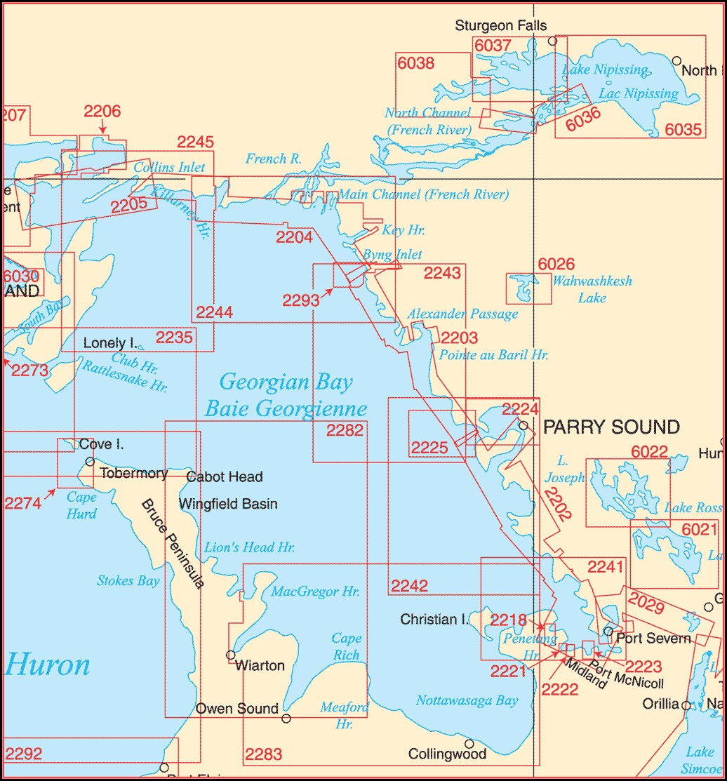 free-nautical-maps-of-georgian-bay Job Application Form Walmart Canada on printable for, burger king,
