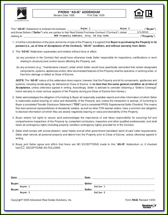 Free Prenup Forms