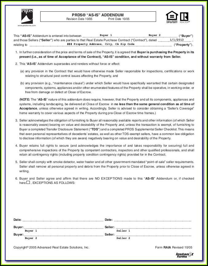 Free Prenup Forms
