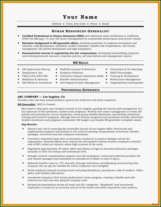 Free Resume Builder Free Print