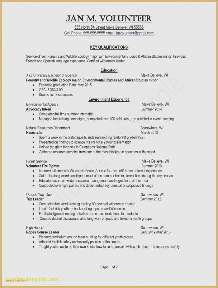 Free Resume Formatting