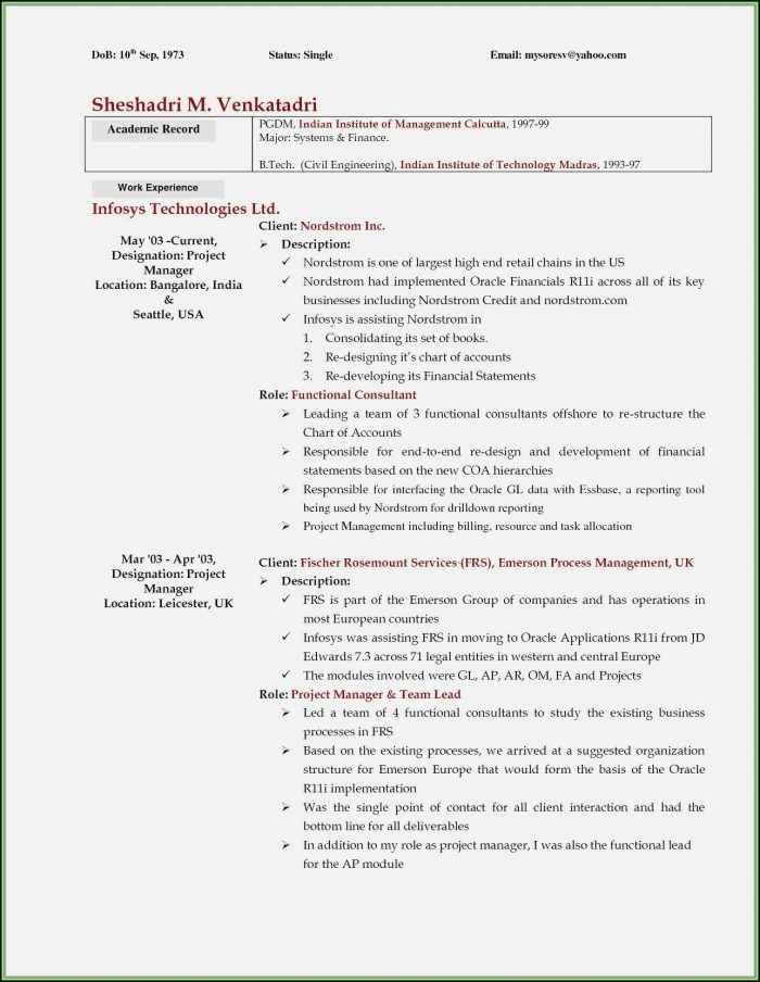 Free Resume Templates 2018 Printable