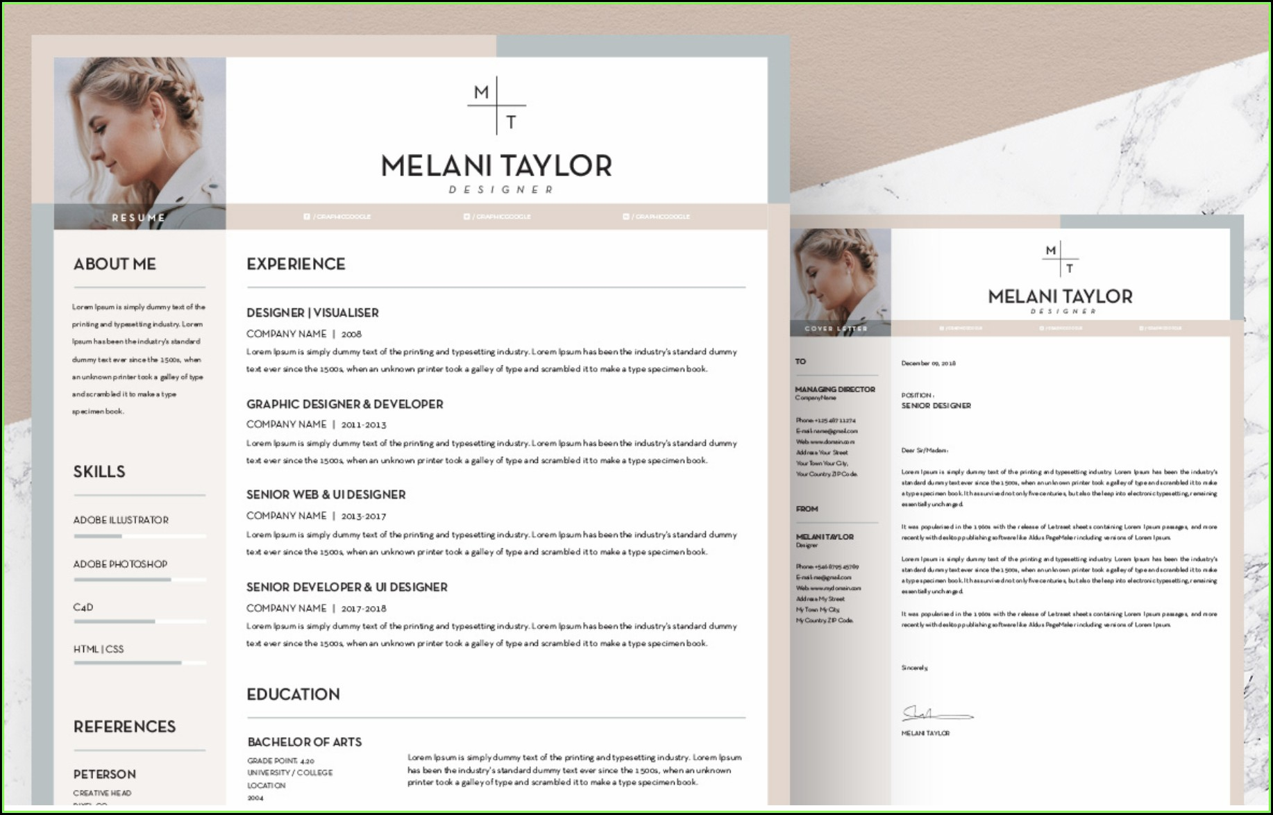 Free Resume Templates Download Mac