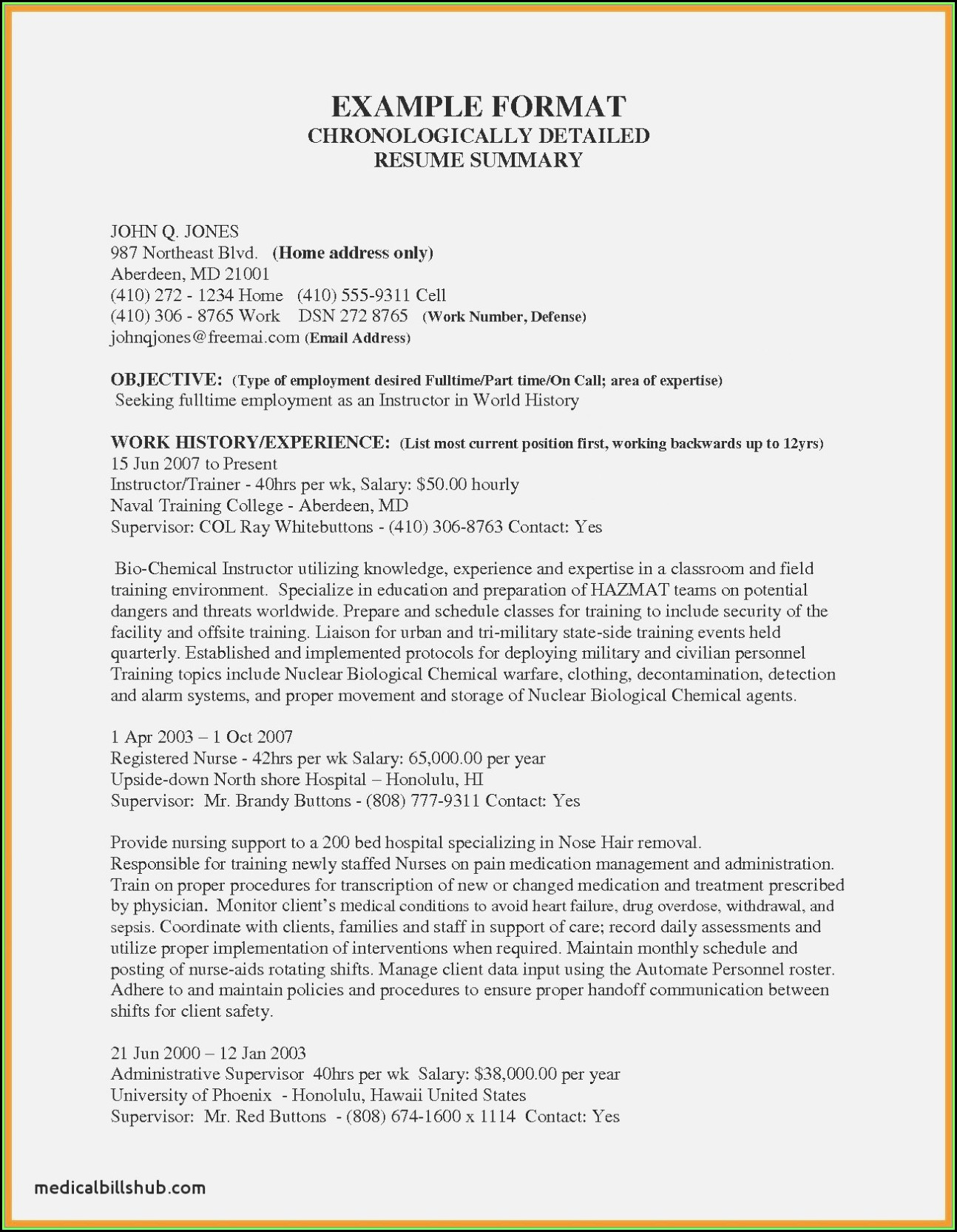 Free Resume Templates For High School Students