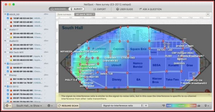 Free Wifi Heat Map Software