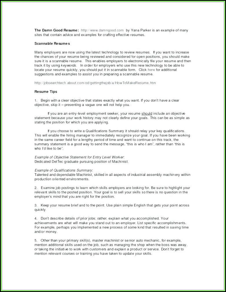 Freelance Resume Writer Job Description