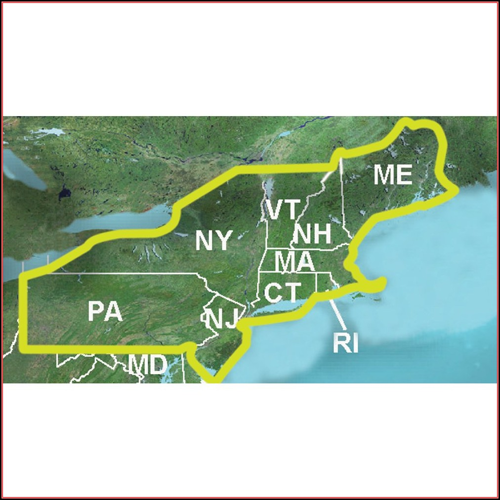 Garmin 24k Topo Maps Northeast