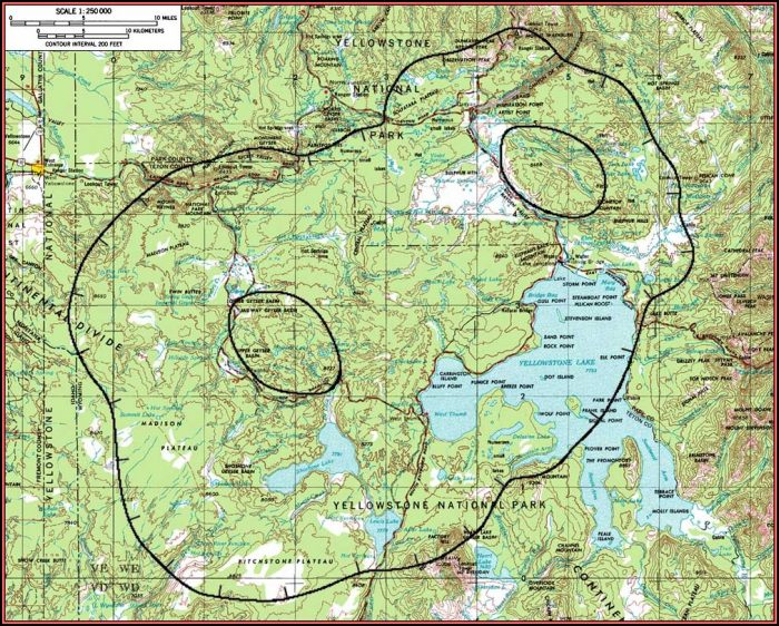 Google Maps Of Yellowstone National Park