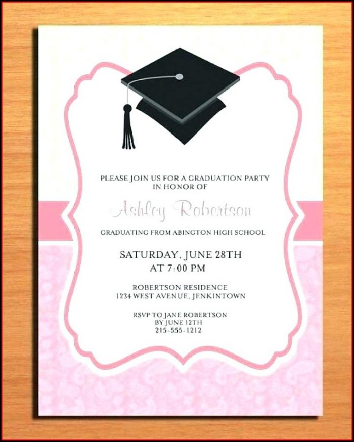 Graduation Party Invitations Templates Free 2015